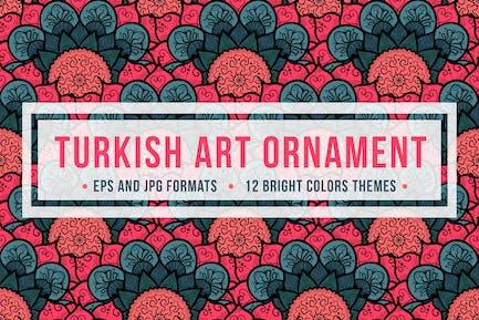 Adorno de Arte Turco