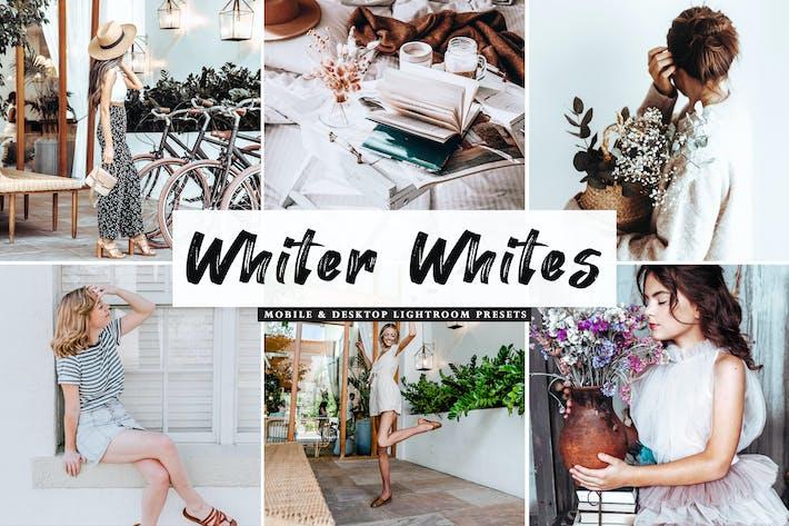 Белые белые пресеты для мобильных и настольных Lightroom