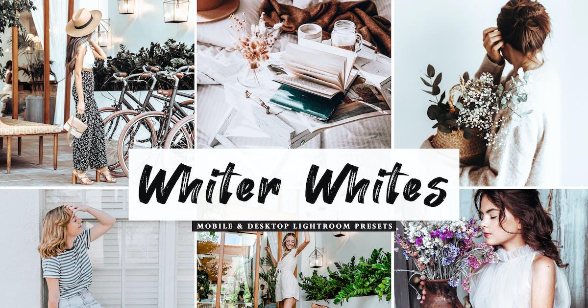 Download Whiter Whites Mobile & Desktop Lightroom Presets by creativetacos