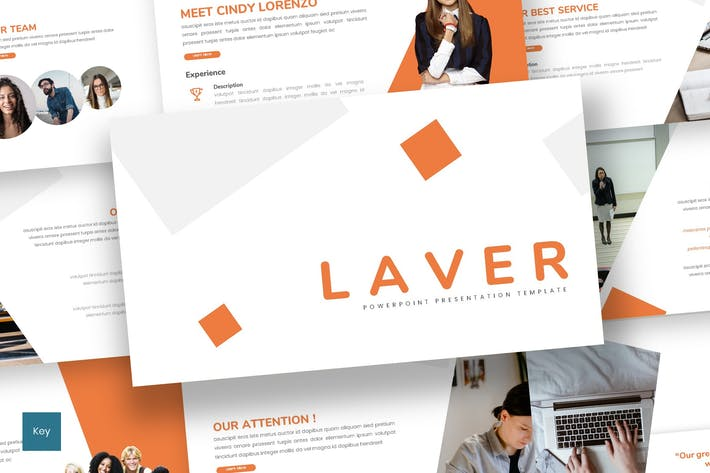 Thumbnail for Laver - Business Keynote Template