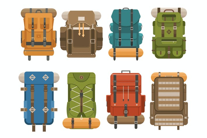 Thumbnail for Camping Backpacks Collection