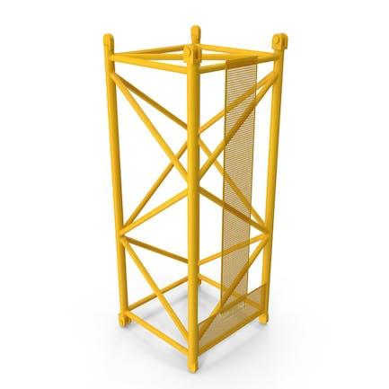 Crane L Intermediate Section 6m Yellow