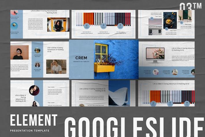 Thumbnail for Crem Creative Business Google Slide
