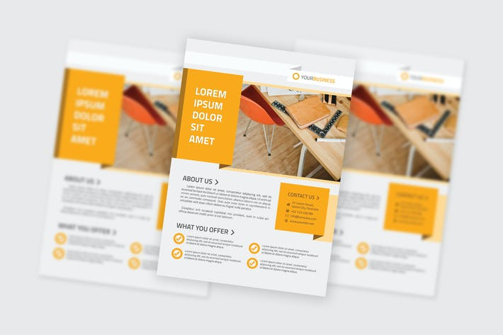 Cover Image For Multipurpose Business Flyer Template