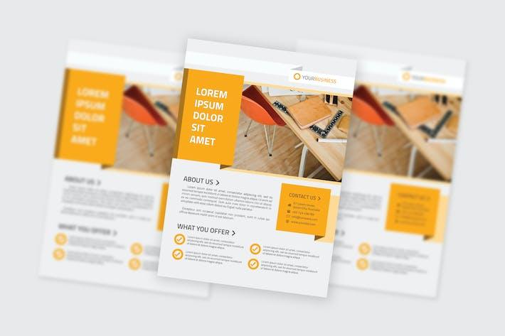 Thumbnail for Multipurpose Business Flyer Template