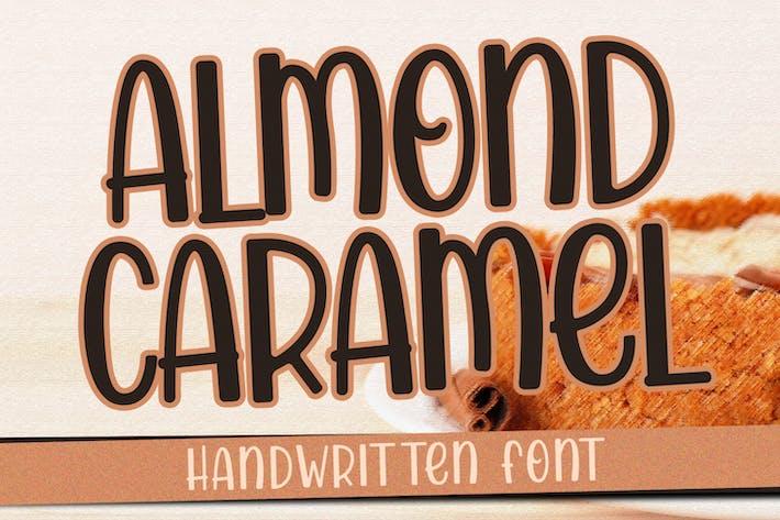 Thumbnail for Almond Caramel - Fuente manuscrita