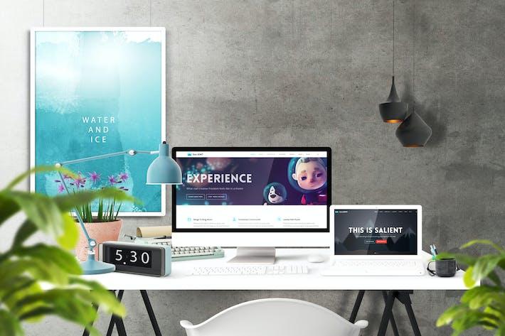 Frame Creator Mockups by Wutip on Envato Elements