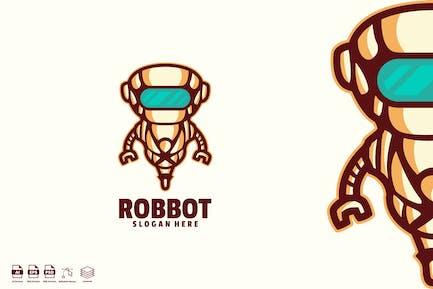 robbot logo template