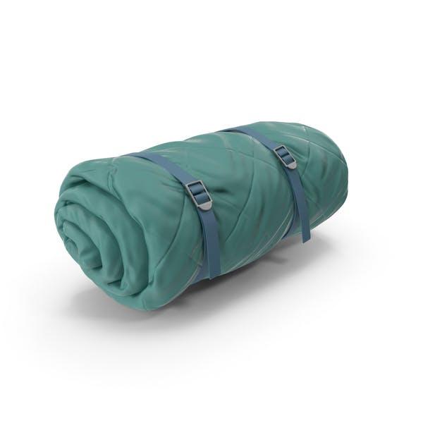 Folded Sleeping Bag Green