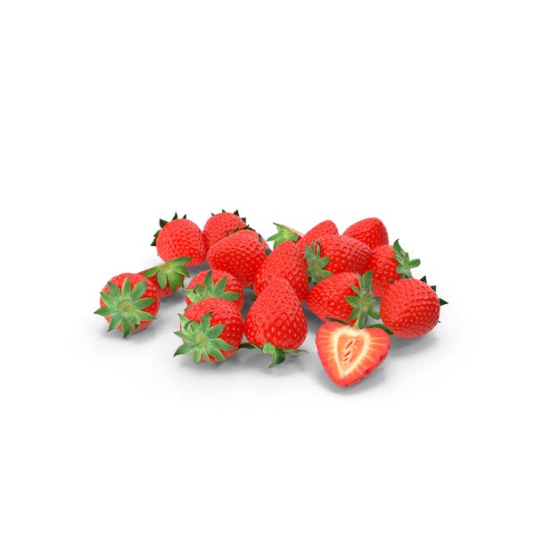 Strawberry Pile