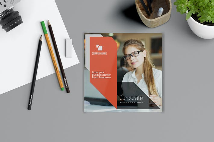 Thumbnail for Square Brochure