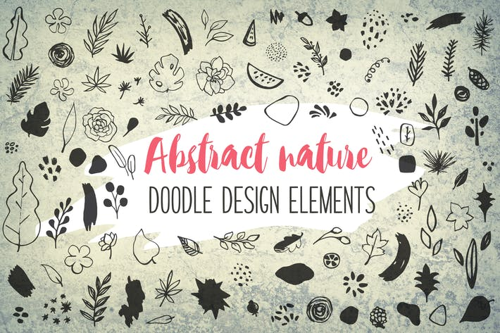 Thumbnail for Abstract Seasonal Floral Doodles