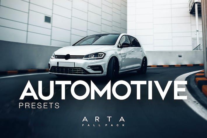 Thumbnail for ARTA Automotive Presets For Mobile and Desktop Lig
