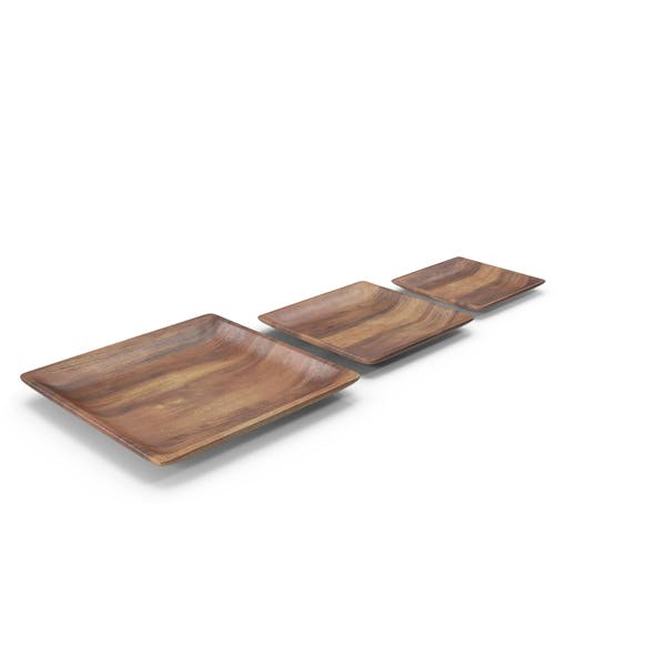Thumbnail for Wooden Serving Plate