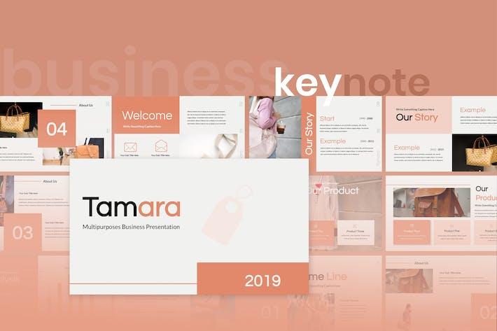 Tamara - Multipurpose Keynote Presentation