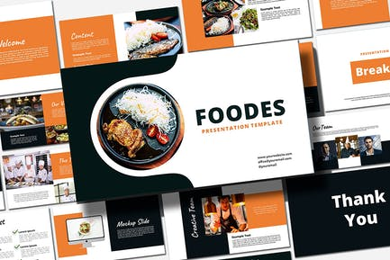 Foodes - PowerPoint Template