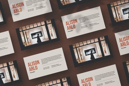 Museum Business Card