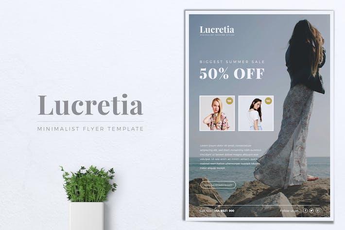 Thumbnail for LUCRETIA Fashion Flyer