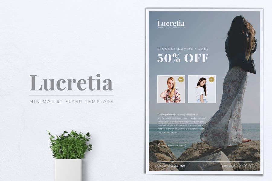 LUCRETIA Fashion Flyer