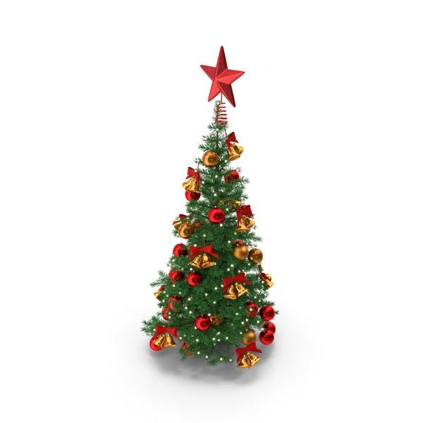 Маленькая праздничная елка