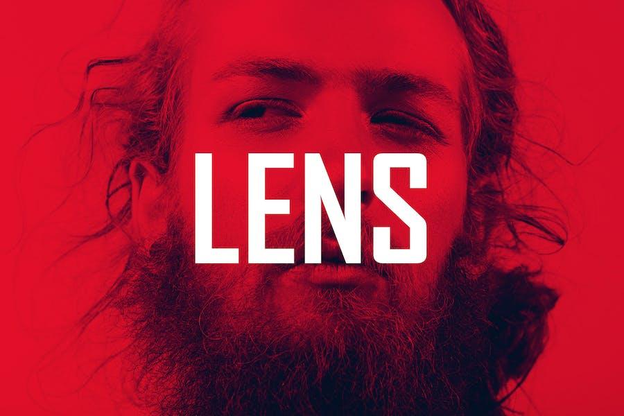 Lens - 20 Vibrant Effects