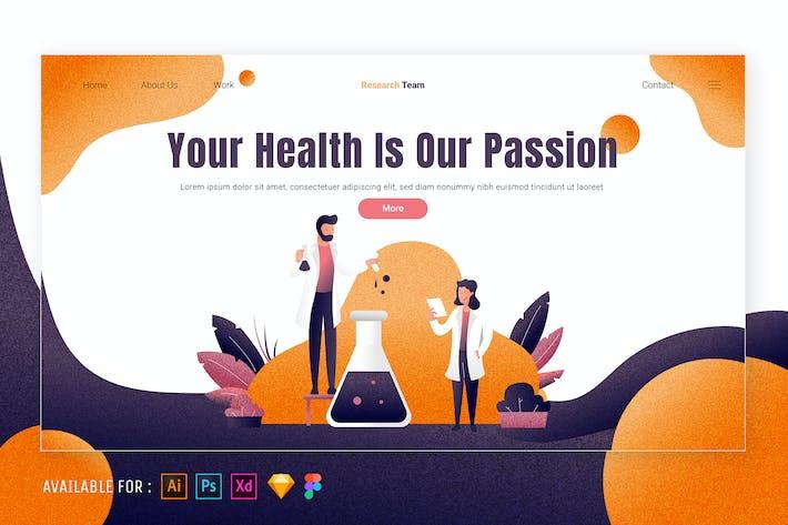 Thumbnail for The Professor Makes Potions - Web Illustration