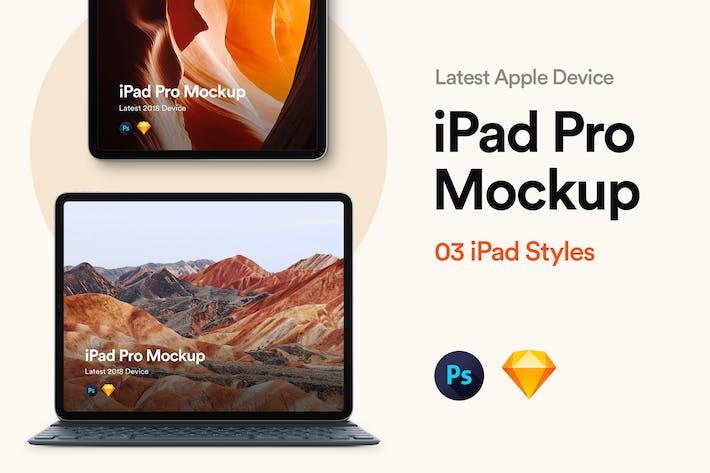 Thumbnail for iPad Pro 2018 Mockup