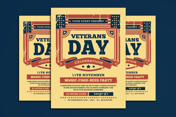 Cover Image For Veterans Day Flyer
