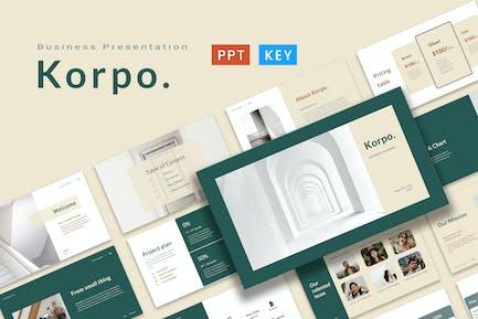 Korpo Presentation