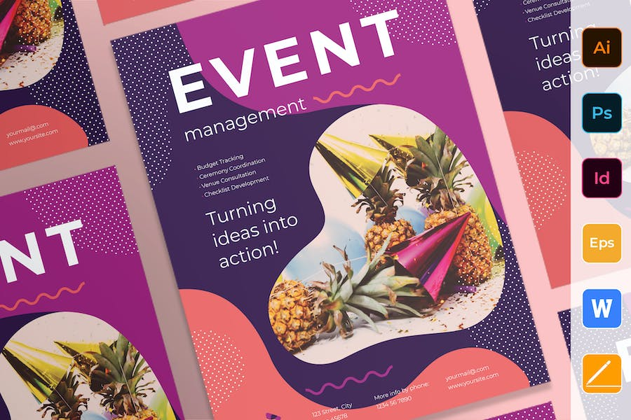 Event Management Poster