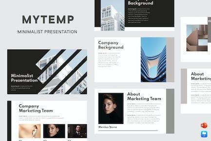 Mytemp - Modern & Minimalist Presentation