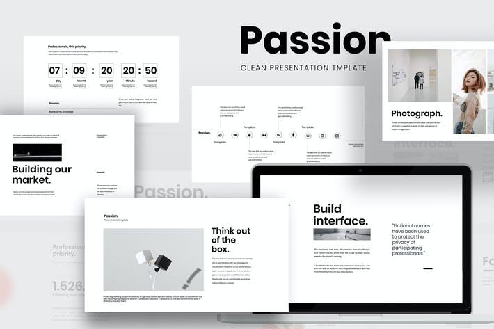 Thumbnail for Passion - Minimal Clean Business Keynote