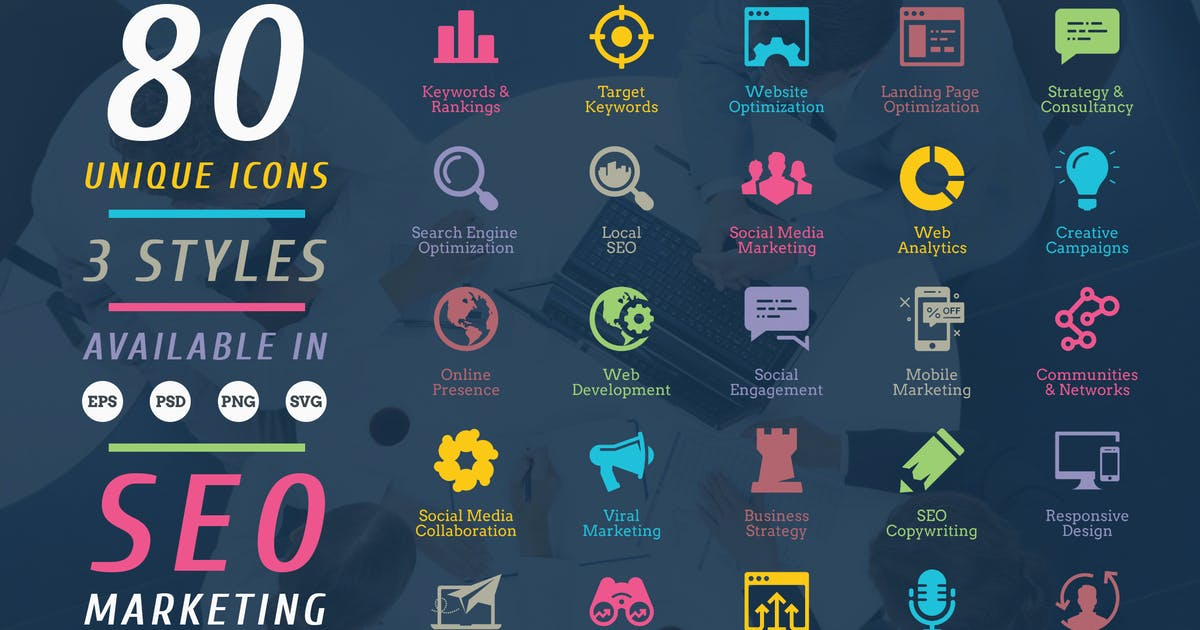 Download Seo Icons by floringheorghe
