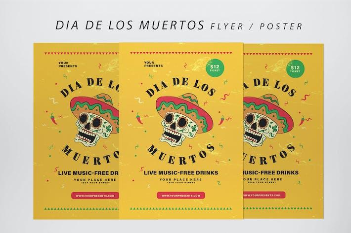 Thumbnail for Dia De Los Muertos Flyer