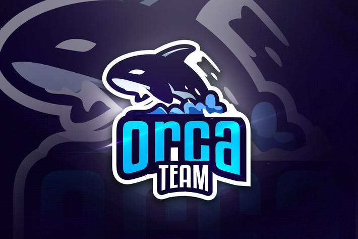 Cover Image For Orca Team - Mascot & Esport Logo