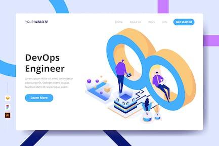 DevOps Engineer - Landing Page