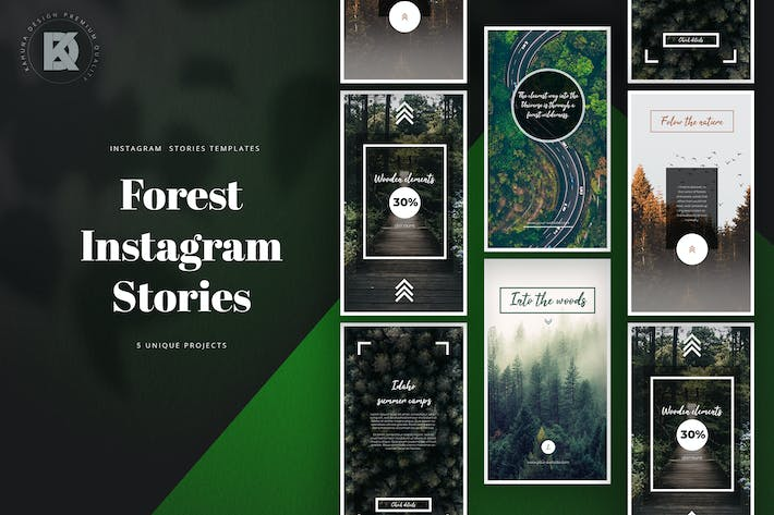 Thumbnail for Forest Instagram Stories