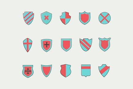 15 Shield Icons