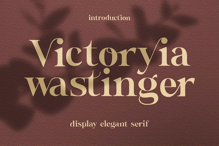 Victoryia Wastinger элегантный дисплей
