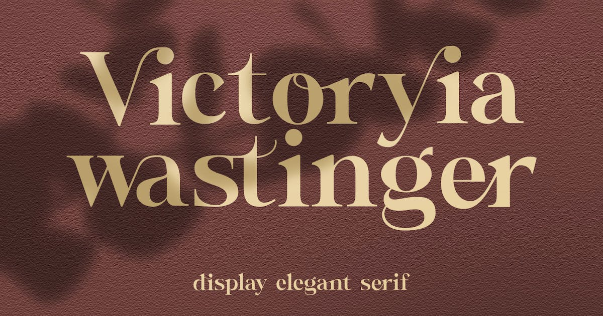 Download Victoryia Wastinger Elegant Display by templatehere