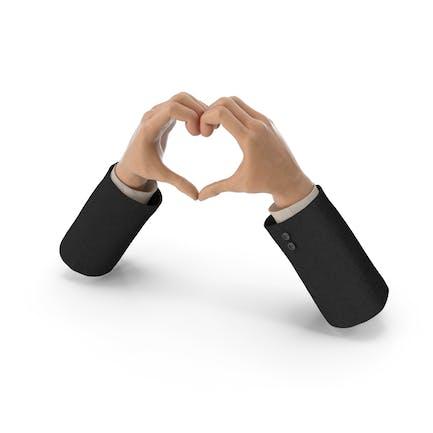 Heart Shape Hands Suit