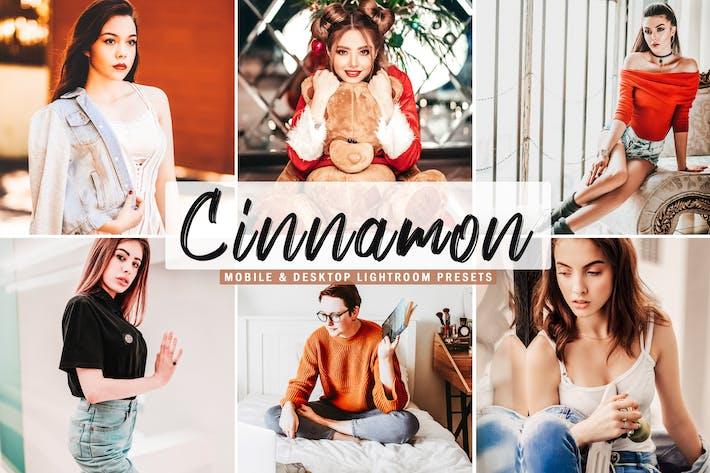 Thumbnail for Cinnamon Mobile & Desktop Lightroom Presets