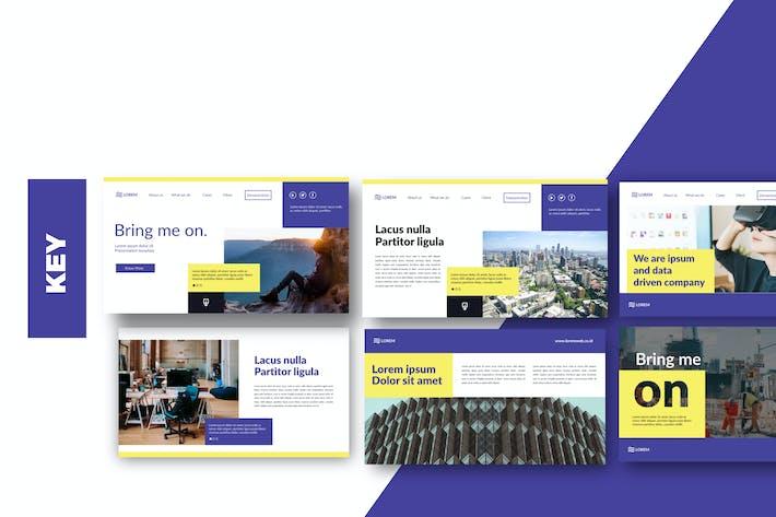 Thumbnail for Bringmeon Keynote Business Corporate