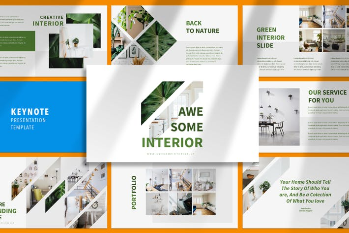 Thumbnail for Awesome Interior - Keynote Template