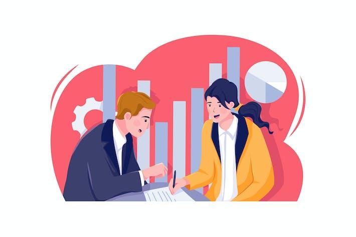 Thumbnail for Marketing Strategie Vektor Illustration Konzept.
