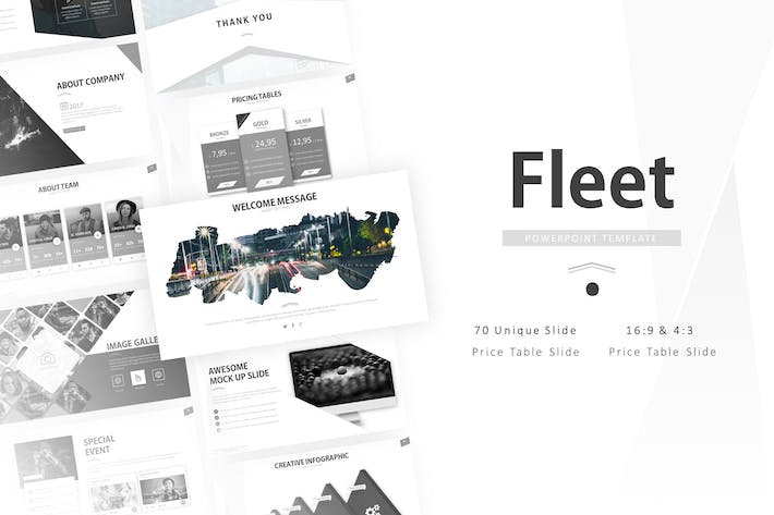 Thumbnail for Fleet Creative Presentation Template