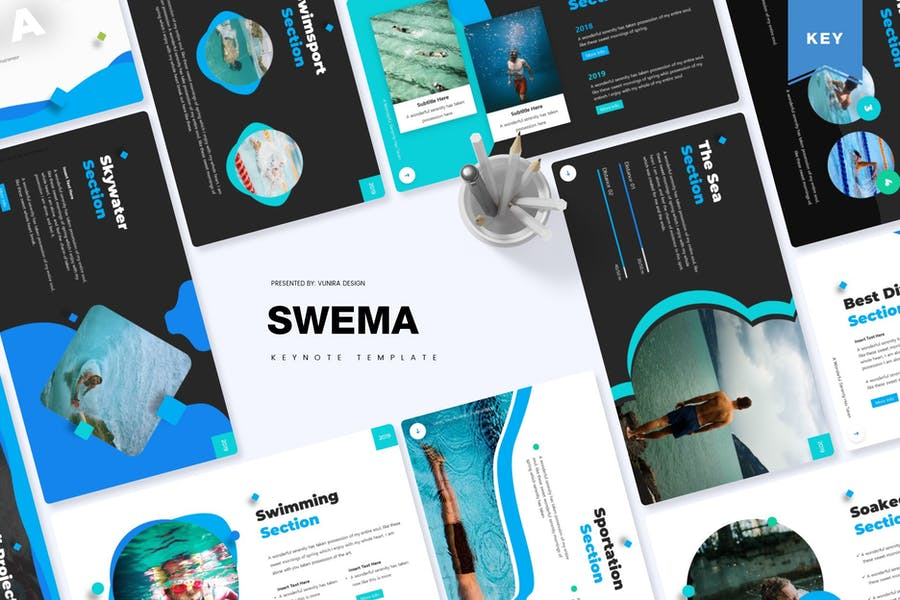 Swema | Keynote Template - product preview 0