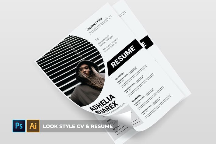 Thumbnail for Look style | CV & Resume