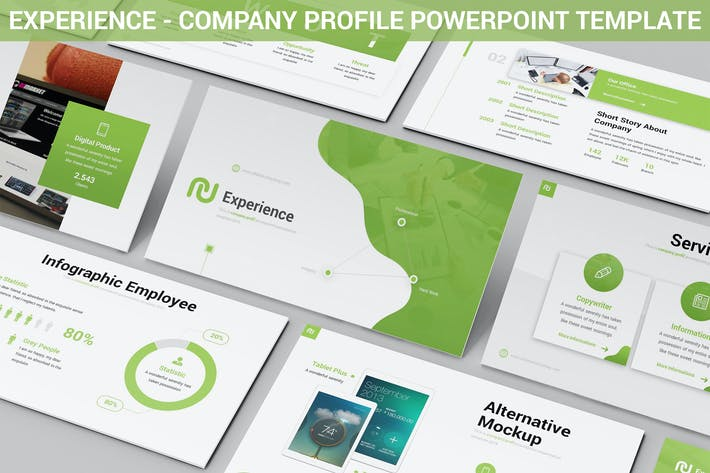 Thumbnail for Experience - Company Profile Powerpoint Template