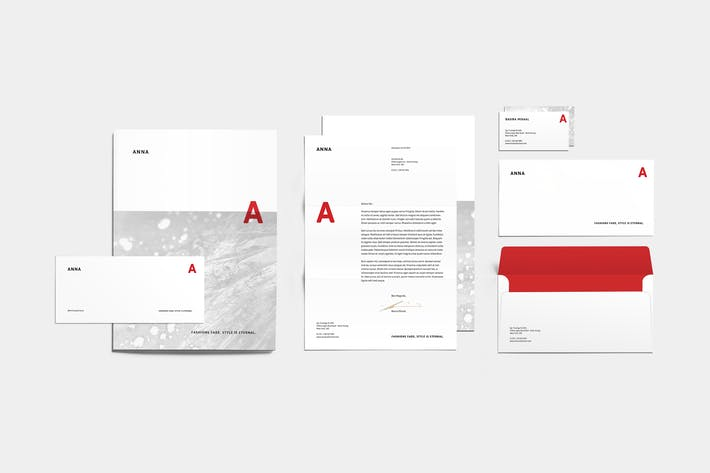 Cover Image For Anna Corporate Identity